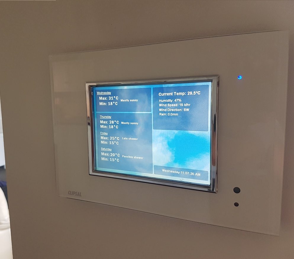 Goodwood Electrical Touchscreen